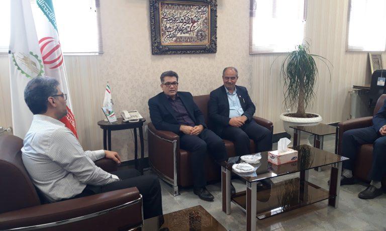 دیدار مدیریت شعب بانک تجارت استان خراسان جنوبی با مدیر عامل شرکت کشت و صنعت پیوند خاوران