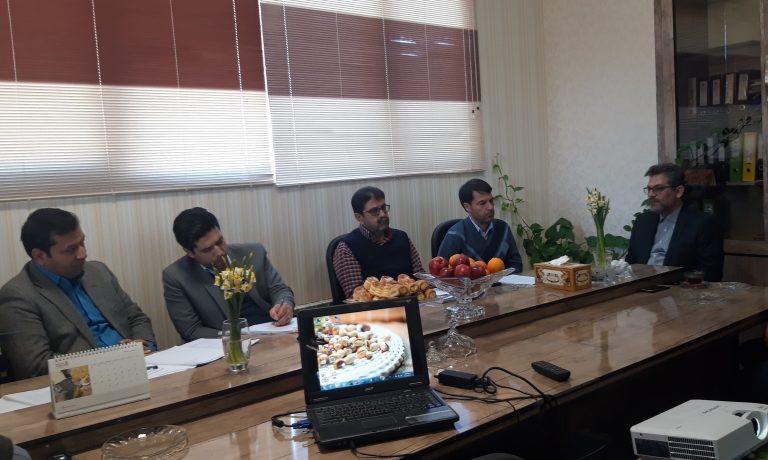 برگزاری جلسه ارزیابی تعالی سازمانی شرکت کشت و صنعت پیوند خاوران توسط ارزیابان EFQM