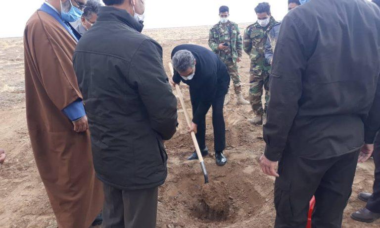 آغاز طرح مشارکتی عملیات نهال کاری، توسعه جنگل و زراعت چوب در شرکت کشت و صنعت پیوند خاوران