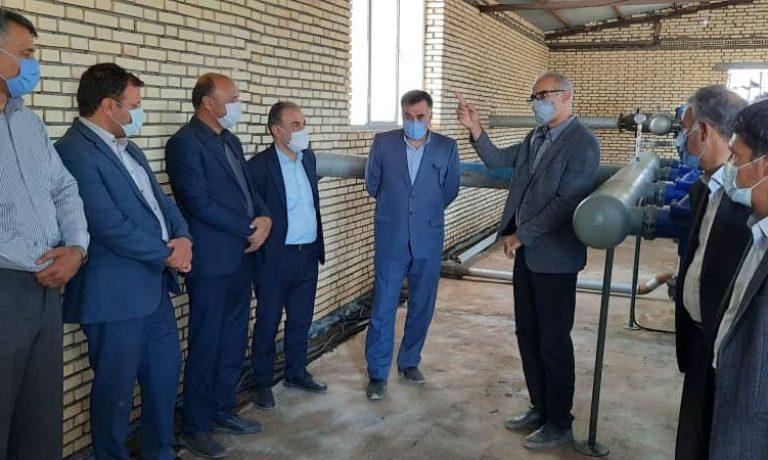 بازدید مدیر کل دفتر آب و خاک وزارت جهاد کشاورزی از طرح های توسعه ای شرکت کشت و صنعت پیوند خاوران